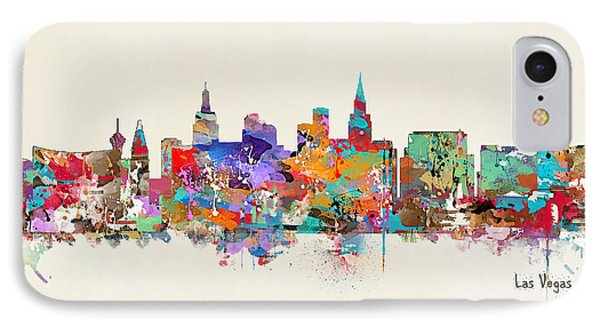 Las Vegas Skyline IPhone Case by Bri B