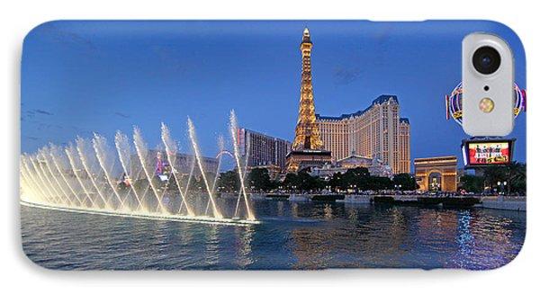 IPhone Case featuring the photograph Las Vegas Skyline by Martin Konopacki