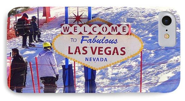 Las Vegas Snow IPhone Case