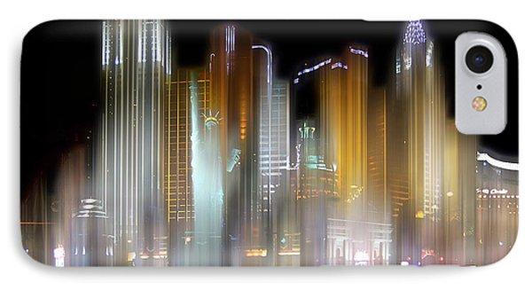 Las Vegas Surreal IPhone Case by Rod Jones