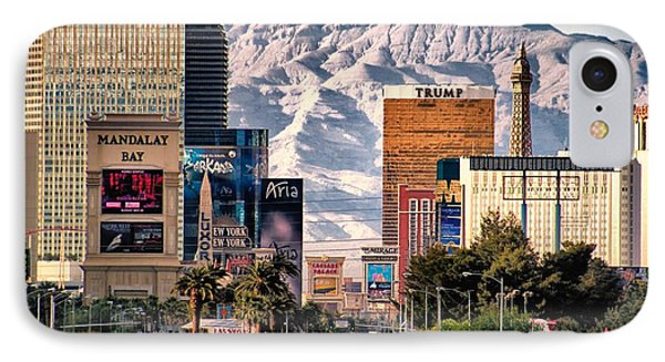 IPhone Case featuring the photograph Las Vegas Nevada by Michael Rogers