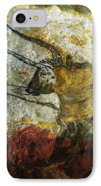Lascaux II Number 3 - Vertical IPhone Case by Jacqueline M Lewis