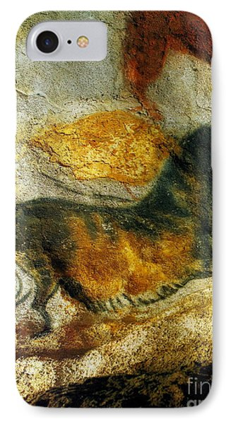 IPhone Case featuring the photograph Lascaux II Number 4 - Vertical by Jacqueline M Lewis