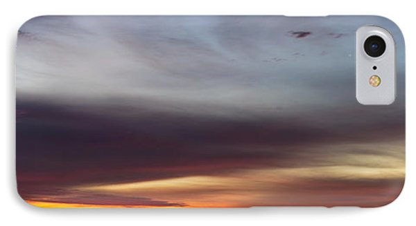 Last 2012 Sunrise Panoramic IPhone Case by Michael Waters