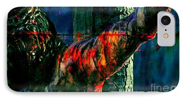 Last Breath Of Jesus IPhone Case by Michael Grubb