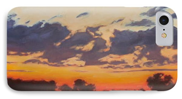IPhone Case featuring the painting Last Light by Andrew Danielsen