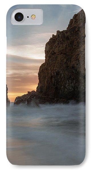 Last Light At Big Sur IPhone Case by Tim Bryan