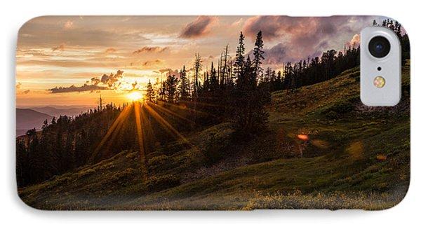 Last Light At Cedar Phone Case by Chad Dutson