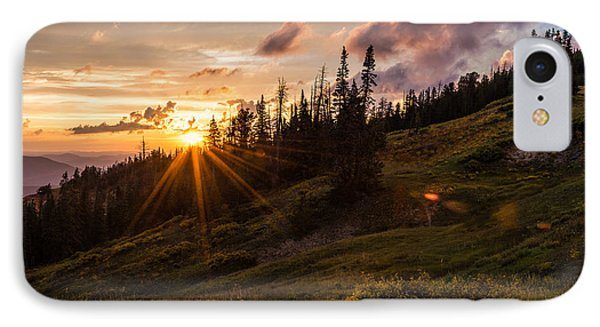 Last Light At Cedar IPhone Case