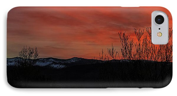 IPhone Case featuring the photograph Last Light by Nancy Marie Ricketts