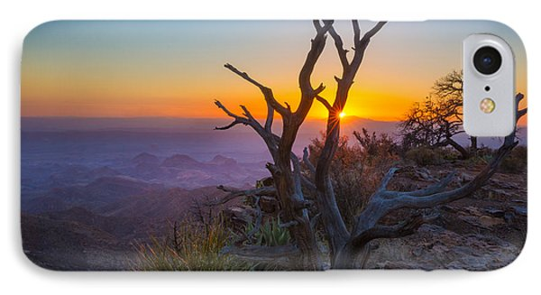 Last Light On The South Rim IPhone Case by Inge Johnsson