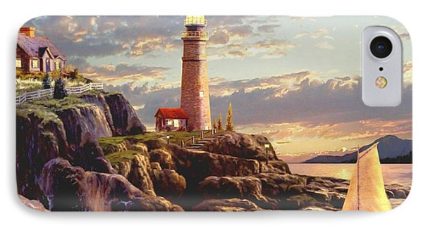Last Light  IPhone Case by Ron Chambers