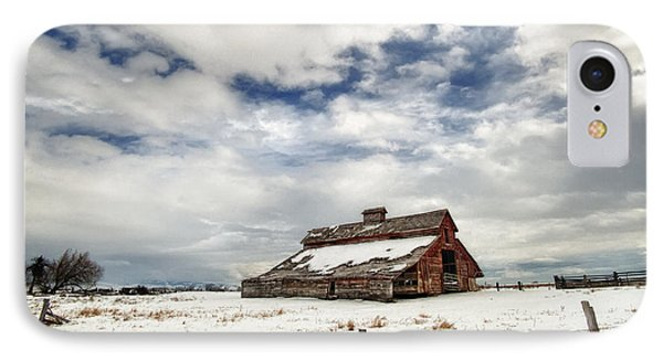 Last Snow Barn IPhone Case