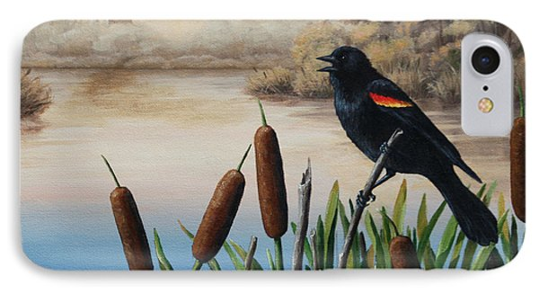 Blackbird iPhone 7 Case - Last Song by Crista Forest