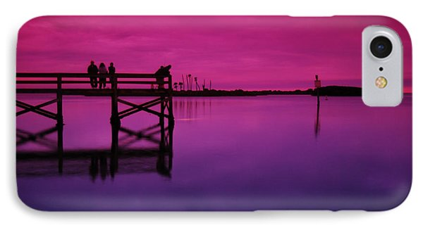 Last Sunset IPhone Case by Beverly Stapleton