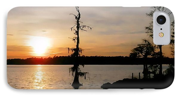 IPhone Case featuring the photograph Last Sunset Of 2012 by Victor Montgomery