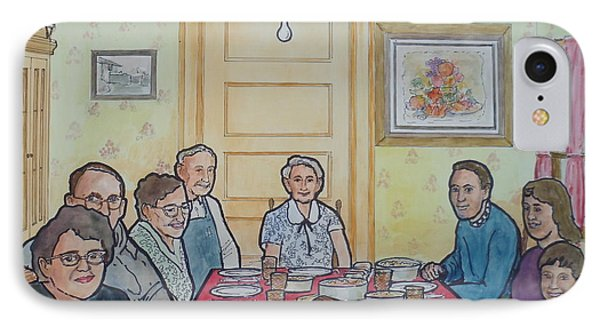 Last Supper Together 1957 IPhone Case by Frank Hunter