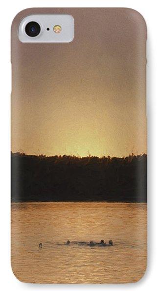 Last Swim IPhone Case by Jean-Pierre Ducondi