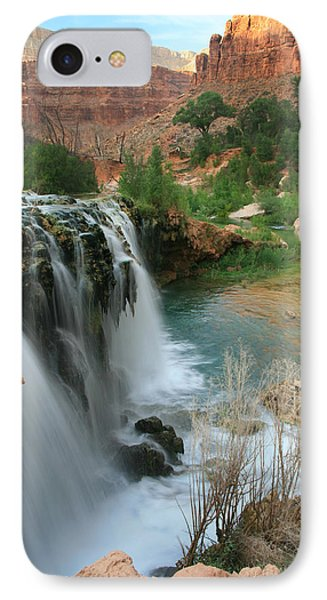 Late Afternoon At Little Navajo Falls  IPhone Case by Scott Cunningham