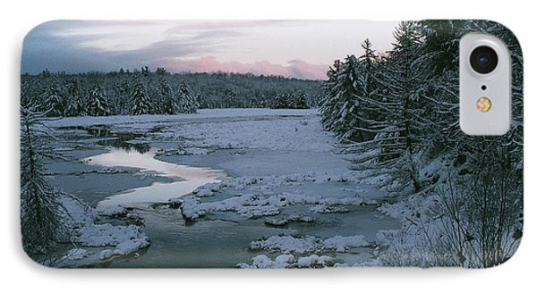IPhone Case featuring the photograph Late Afternoon In Winter by David Porteus