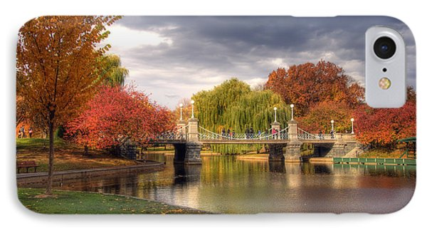 Late Autumn IPhone Case by Joann Vitali