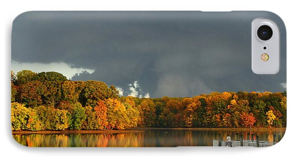 Late Autumn Storm IPhone Case
