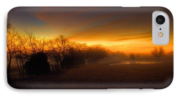 Late Autumn Sunrise IPhone Case