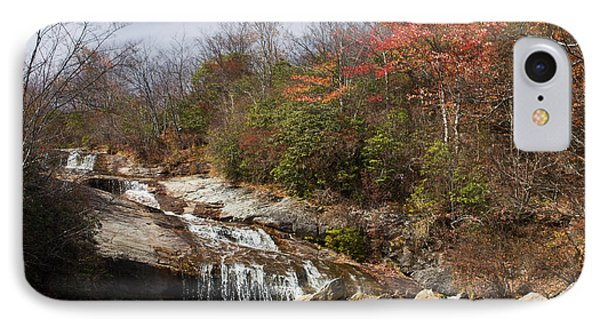 Late Fall Mountain Waterfall IPhone Case