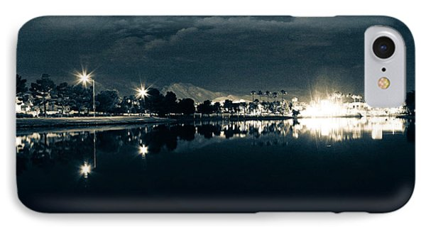 Late Nights And Street Lights IPhone Case by Derek Bell