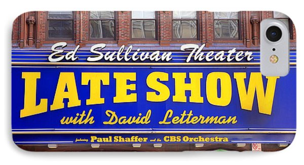 Late Show New York IPhone Case by Valentino Visentini