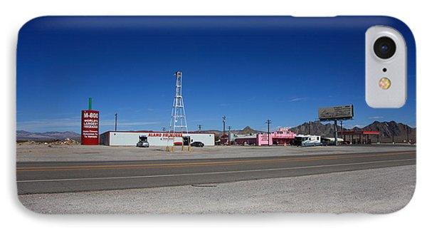 Lathrop Wells Nevada Phone Case by Frank Romeo