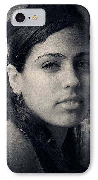 IPhone Case featuring the photograph Latina Beauty by Zinvolle Art