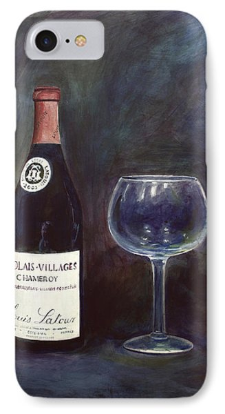 Latour Wine Buon Fresco 3 Primary Pigments Phone Case by Don Jusko