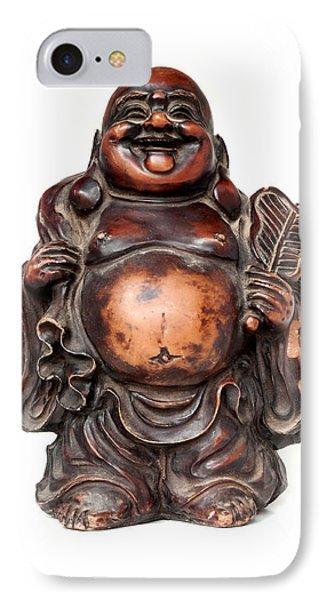 Laughing Buddha Phone Case by Fabrizio Troiani