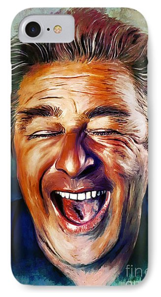 Laughter Is The Best Medicine IPhone Case by Andrzej Szczerski