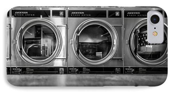 Laundromat Art Phone Case by Bob Orsillo