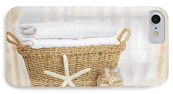 Laundry Basket IPhone Case by Amanda Elwell