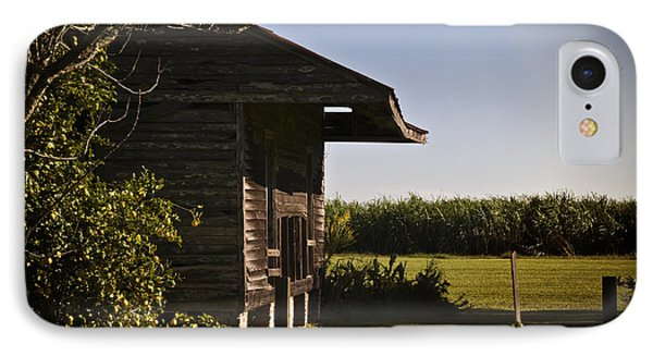 IPhone Case featuring the photograph Laura Plantation Slave Home by Ray Devlin