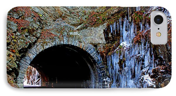 Laurel Creek Road Tunnel IPhone Case
