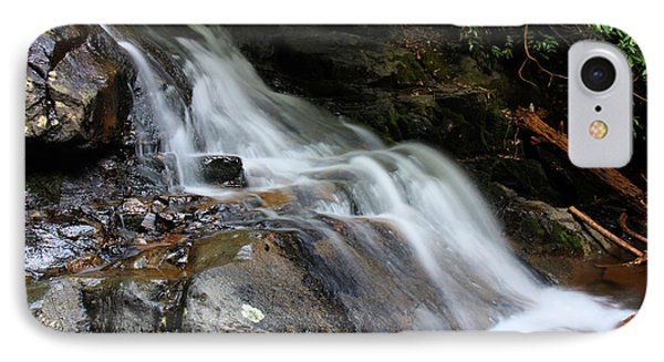 Laurel Falls Great Smoky Mountains IPhone Case by Jerome Lynch