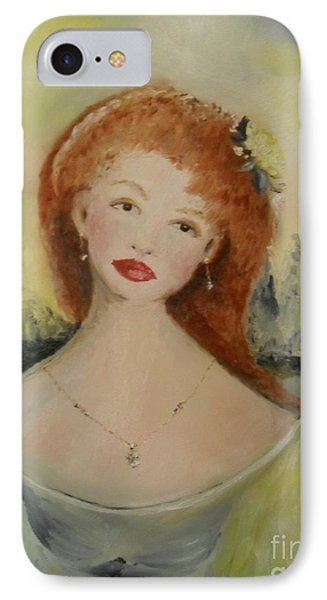 IPhone Case featuring the painting Laurel by Laurie L