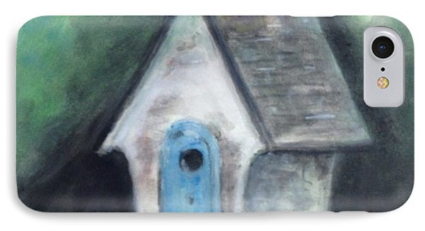 Laurie's Birdhouse IPhone Case by Stan Tenney