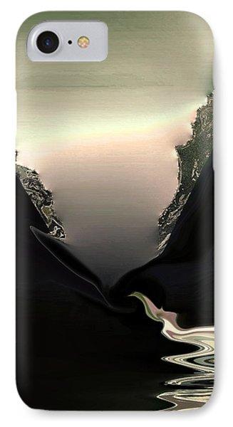 Lava Flow IPhone Case by Steve Godleski