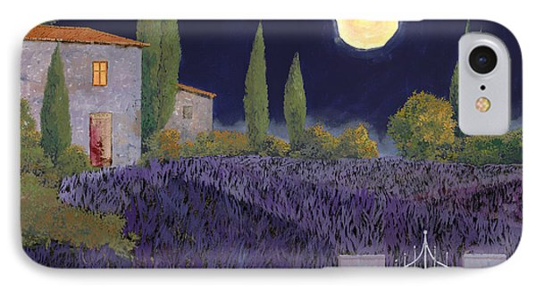 Lavanda Di Notte IPhone Case by Guido Borelli