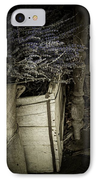 Lavandula Phone Case by Amy Weiss