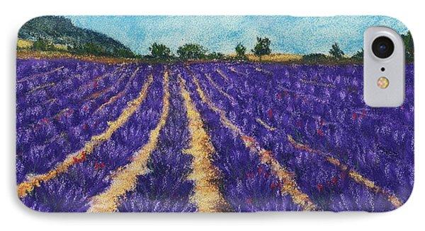 Lavender Afternoon Phone Case by Anastasiya Malakhova
