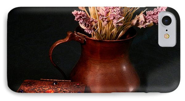 Lavender And Copper IPhone Case
