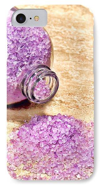Lavender Bath Salts Phone Case by Olivier Le Queinec