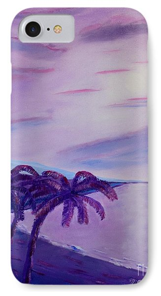 Lavender Bay IPhone Case by Melvin Turner