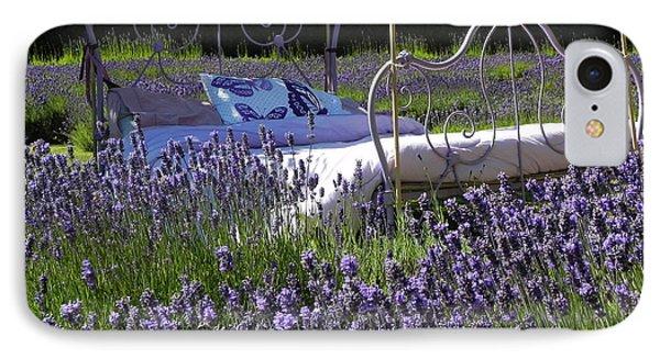 Lavender Dreams IPhone Case by Cheryl Hoyle